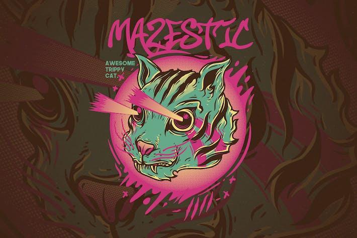 Mazestic Cat