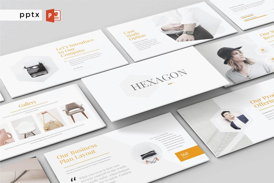 HEXAGON - Multipurpose Powerpoint V165