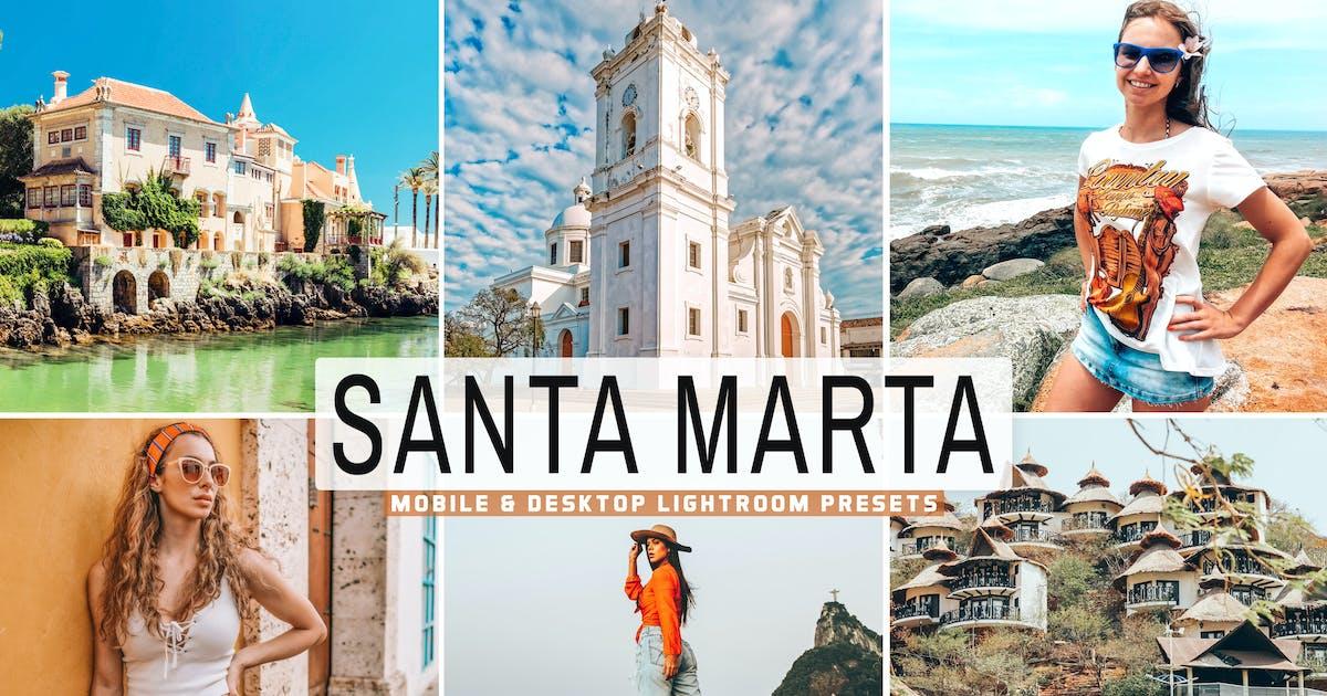 Download Santa Marta Mobile & Desktop Lightroom Presets by creativetacos