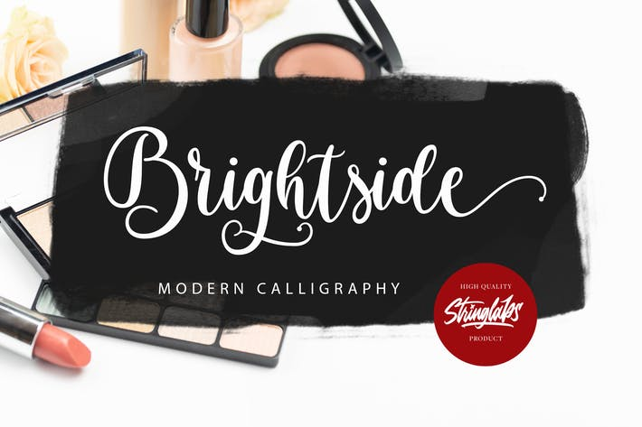 Thumbnail for Brightside - Modern Calligraphy Font