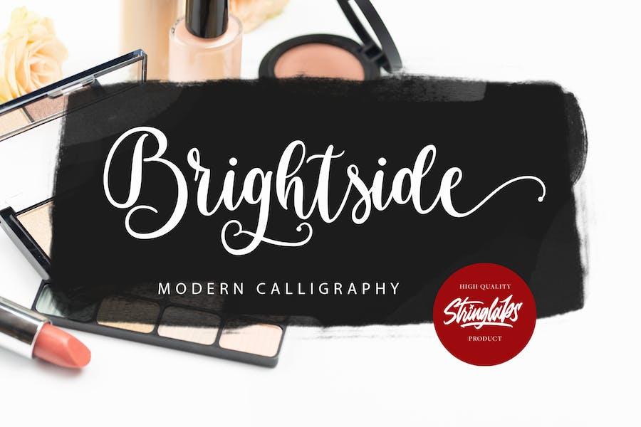 Brightside - Modern Calligraphy Font