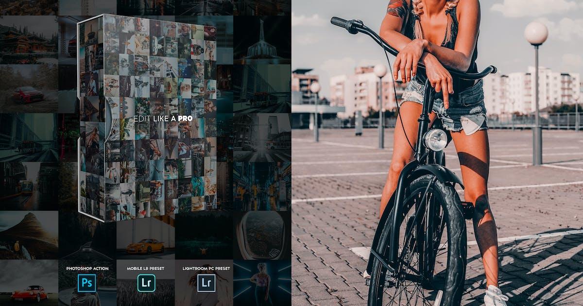 Download Edit Like A PRO 82th - Photoshop & Lightroom by SupremeTones