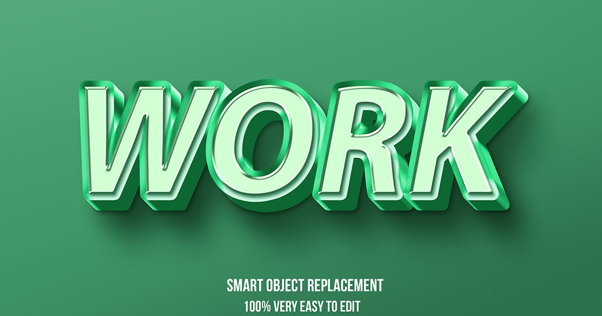 Download Green pastel glossy text effect by wudelmbois