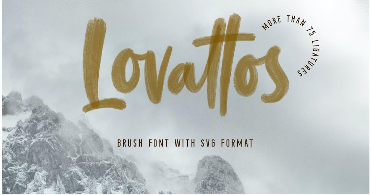 Download Lovattos SVG & Regular Font by Typica_Studio