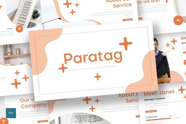 Cover Image For Paratag - Keynote Template
