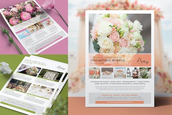 Thumbnail for Hochzeitsplaner Flyer
