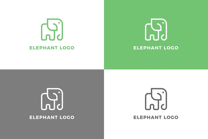 Thumbnail for Elephant - Logo Template