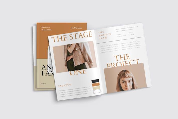 Thumbnail for Media Kit Template for Blogger & Influencer