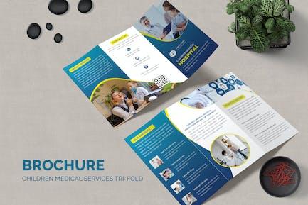 Children Medical Services Trifold Brochure