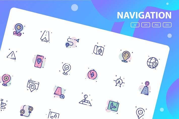 Thumbnail for Пакет значков навигации