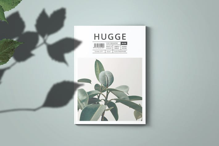 Thumbnail for Hugge Magazine Template