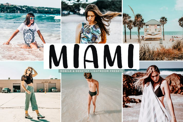 Thumbnail for Miami Mobile & Desktop Lightroom Presets