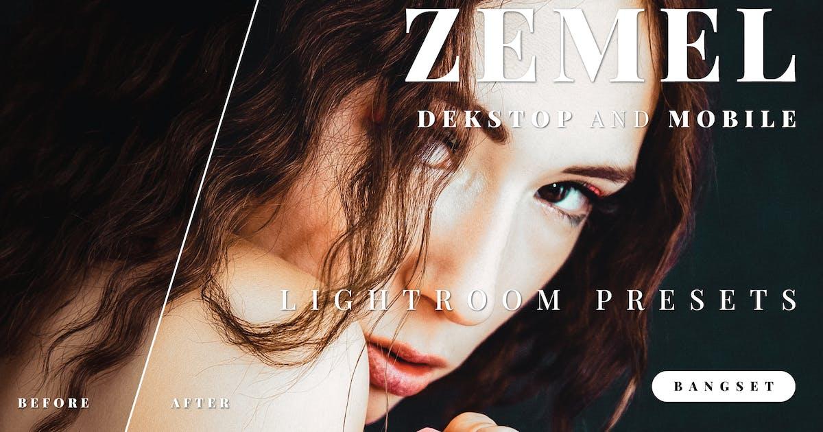 Download Zemel Desktop and Mobile Lightroom Preset by Bangset