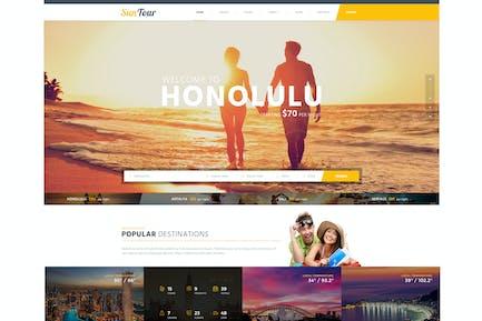 SunTour Creative Travel Agency HTML Template