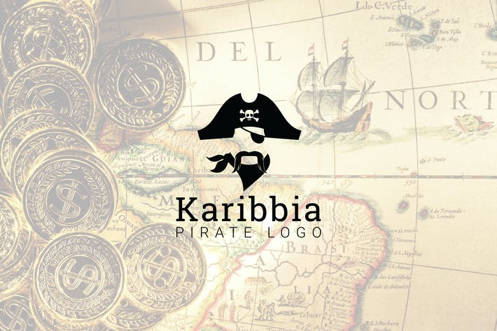 Thumbnail for Karibbia : Pirate Logo