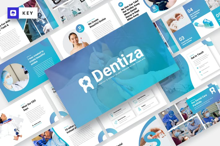 Dentiza - Dentist & Dental Clinic Keynote Template