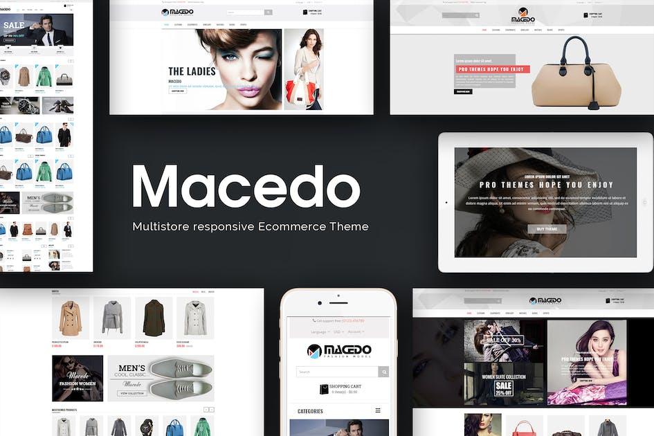 Download Macedo - Fashion Responsive Opencart Theme by posthemes