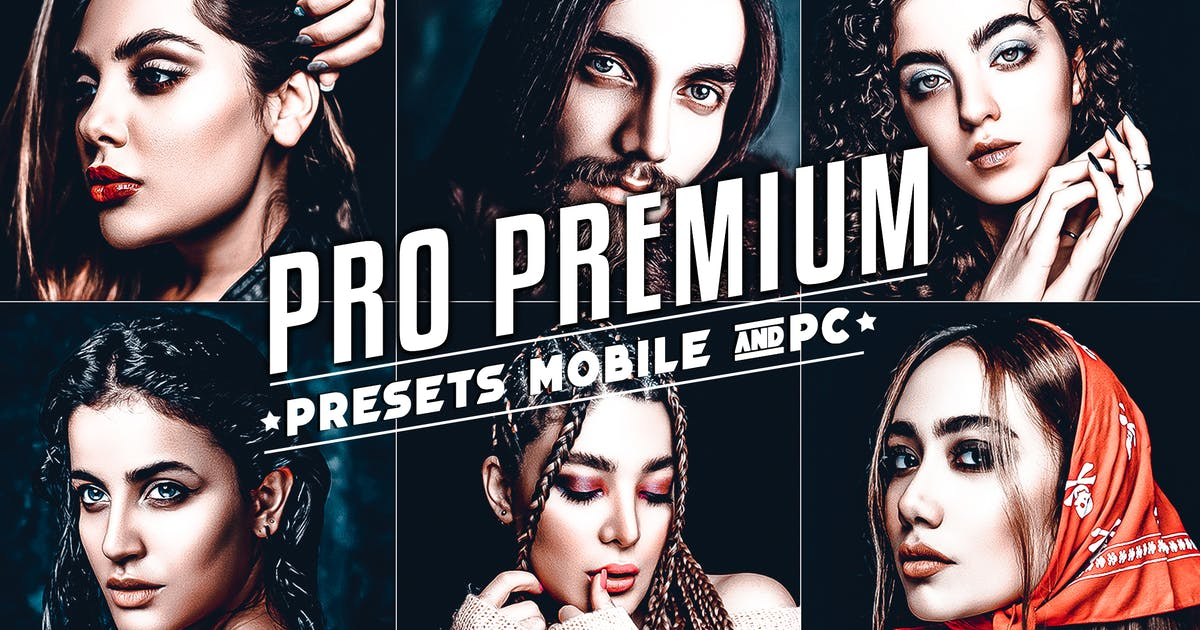 Download Premium Retouching Lightroom Presets by 2lagus