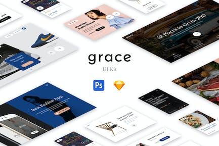 Kit d'interface utilisateur Grace