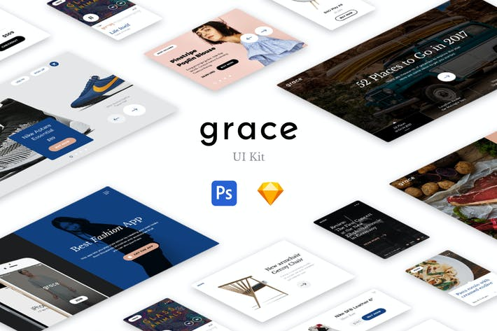 Thumbnail for Grace UI Kit