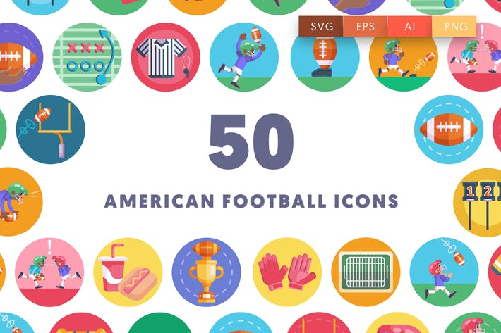 Thumbnail for American Football Icons