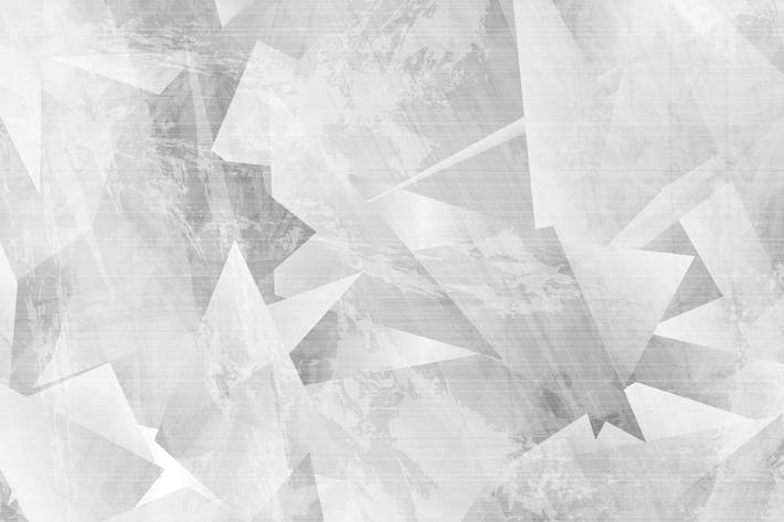 Thumbnail for Light grey grunge polygonal tech background