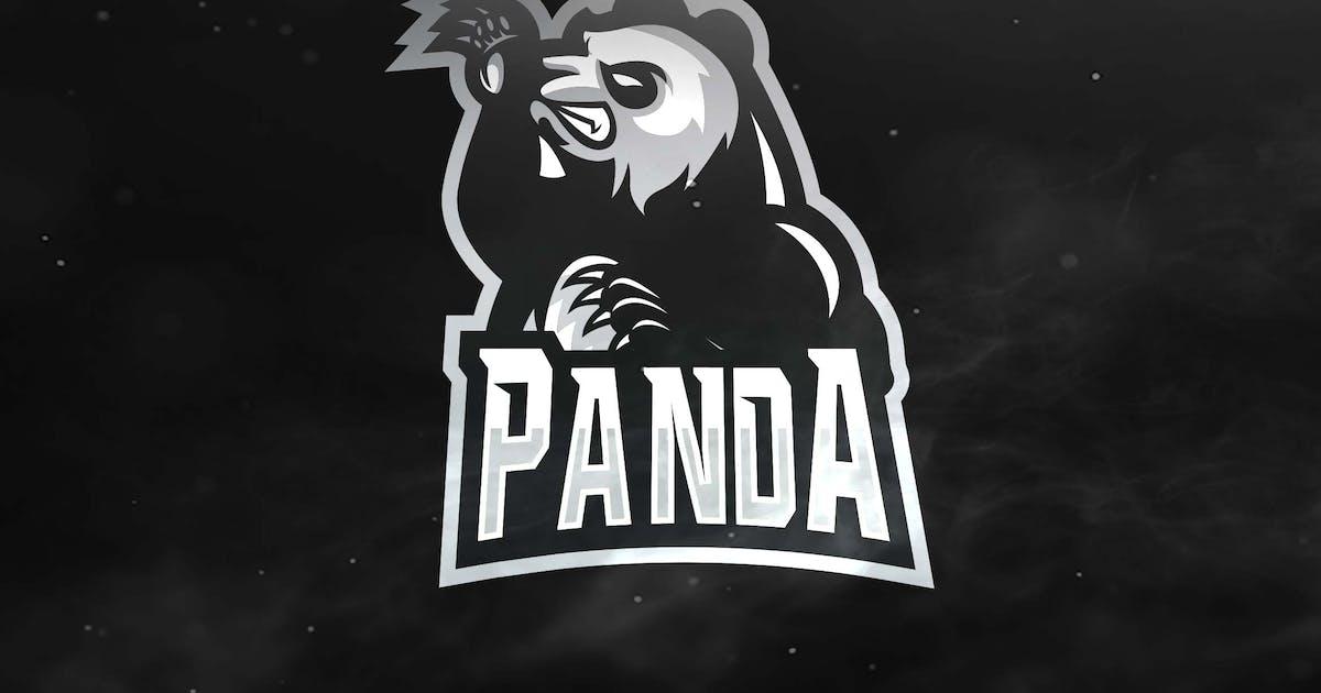 Panda Sport and Esports Logo by ovozdigital