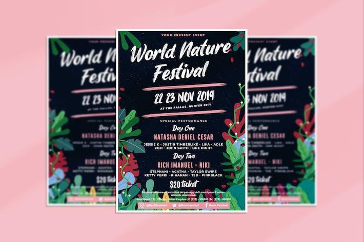 Flyer Natur Festival
