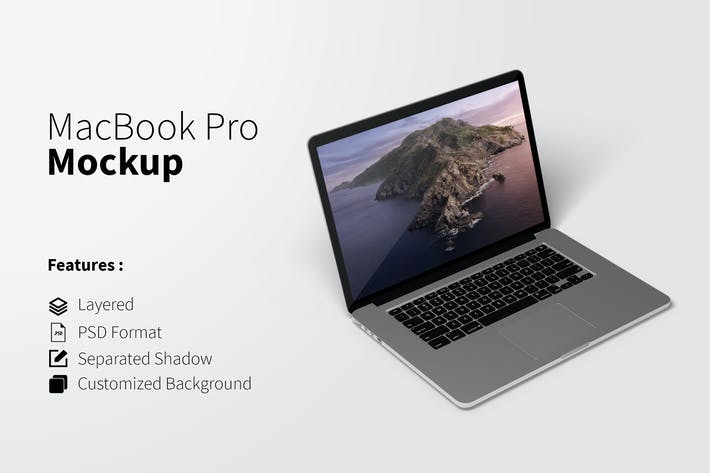 Thumbnail for Awesome Macbook Pro Mockup