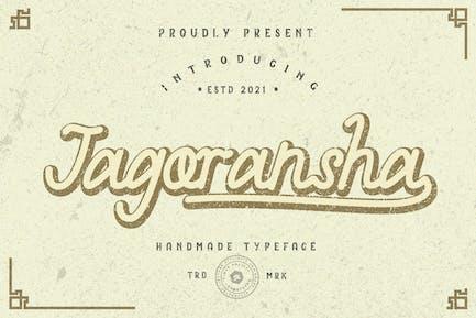 Jagoransha - Monoline Font GT