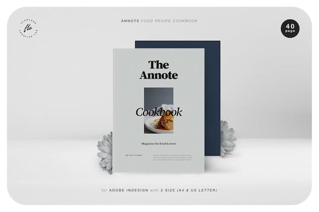 Annote Food Recipe Cookbook