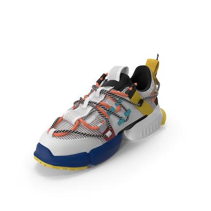 Womens Sneakers Multi Color