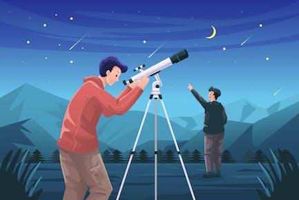 Astronomy Illustration