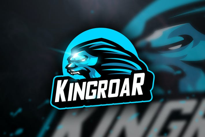 Thumbnail for Kingroar - Mascot & Sports Logo