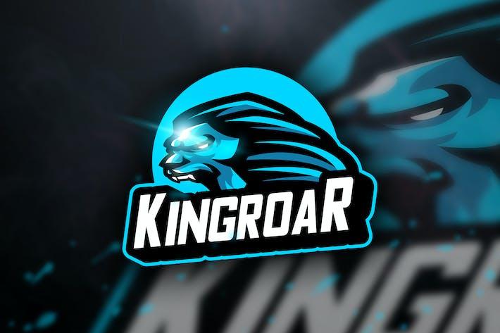 Kingroar - Mascot & Sports Logo