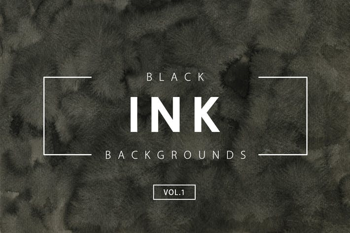 Thumbnail for Black Ink Backgrounds Vol.1