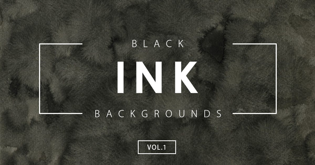 Download Black Ink Backgrounds Vol.1 by M-e-f