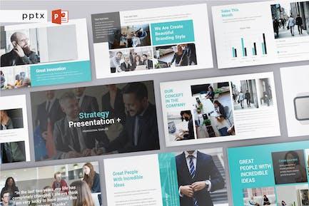 STRATEGY - Multipurpose Powerpoint  V219