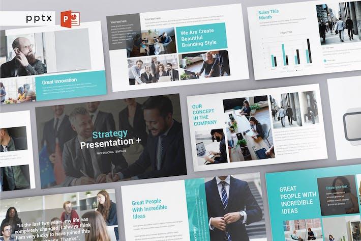 Thumbnail for STRATEGY - Multipurpose Powerpoint  V219