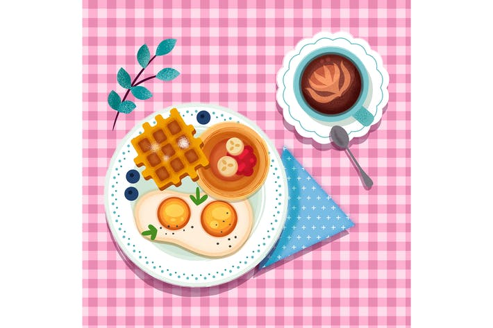 Thumbnail for Cute Breakfast