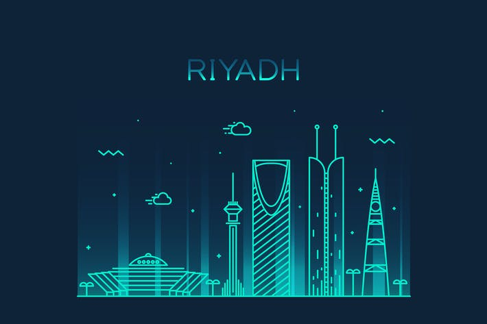 Thumbnail for Riyadh skyline, Saudi Arabia