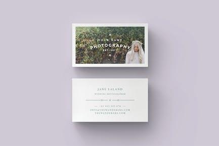WANDERERS Business Card Template