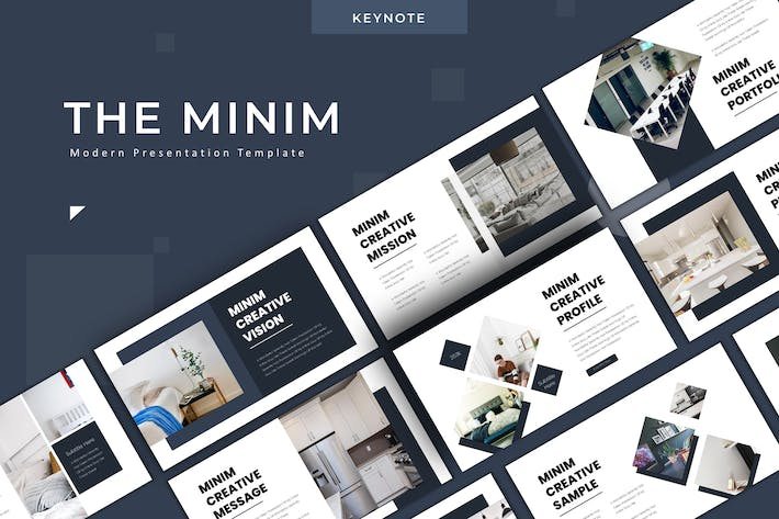 Thumbnail for The Minim - Keynote Template
