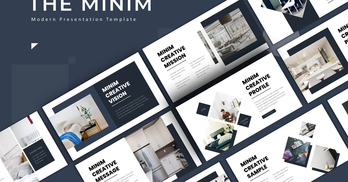 Download The Minim - Keynote Template by karkunstudio