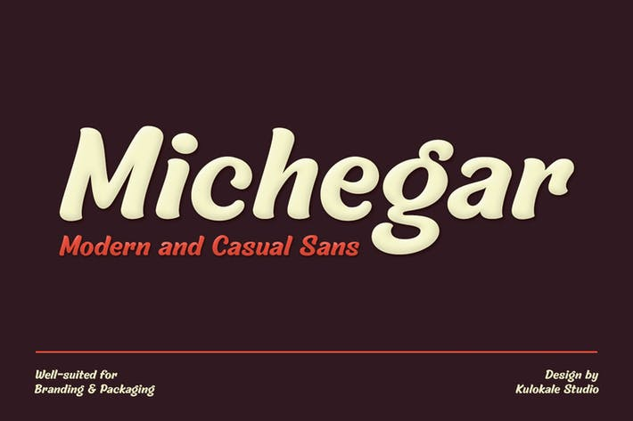 Thumbnail for Sans Serif Font - Michegar