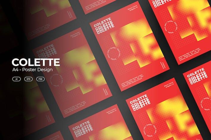 Thumbnail for Дизайн плаката COLETTE