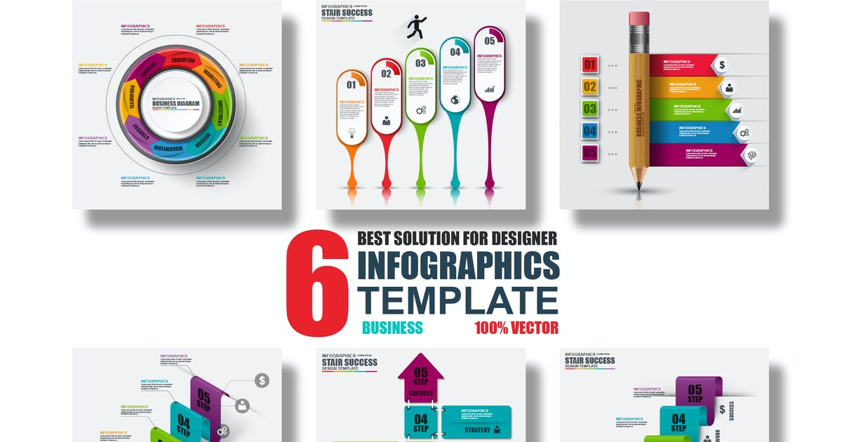 Business Infographic Templates by alexdndz