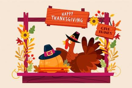 Стенд на День Благодарения