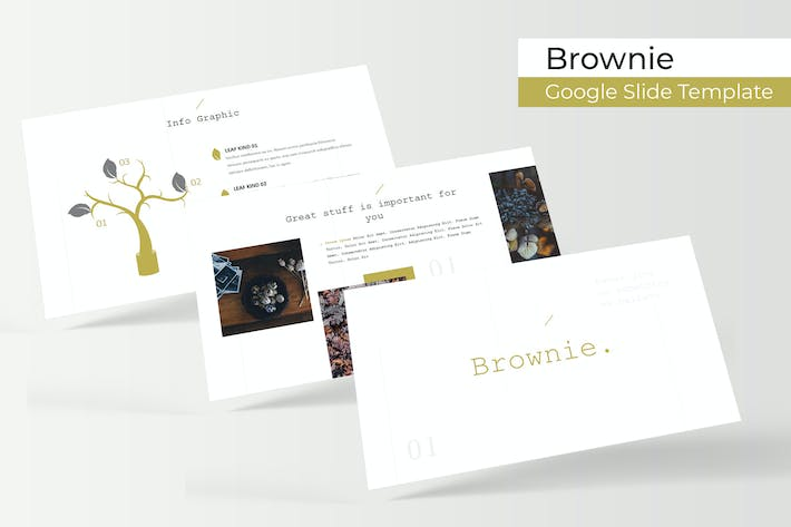 Thumbnail for Brownie - Google Slide Template