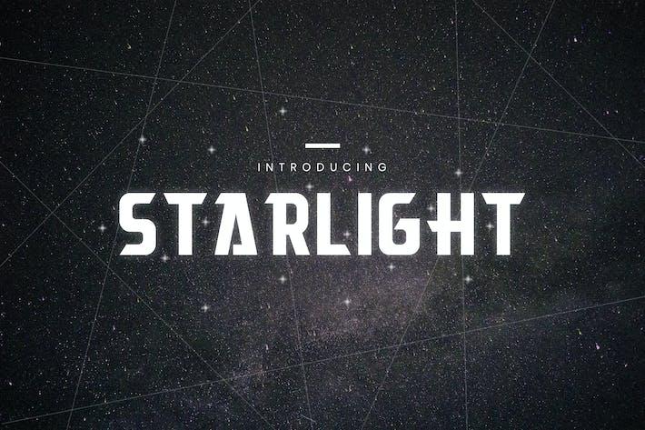 Thumbnail for Звездный свет - Шрифт